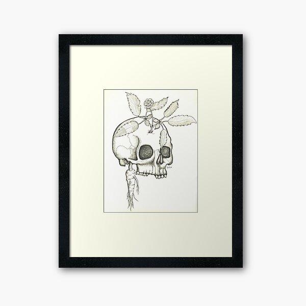 Energy Root Framed Art Print