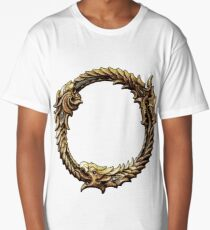 Elder Scrolls Dragon loop Long T-Shirt