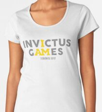 INVICTUS GAMES Toronto 2017 Women's Premium T-Shirt