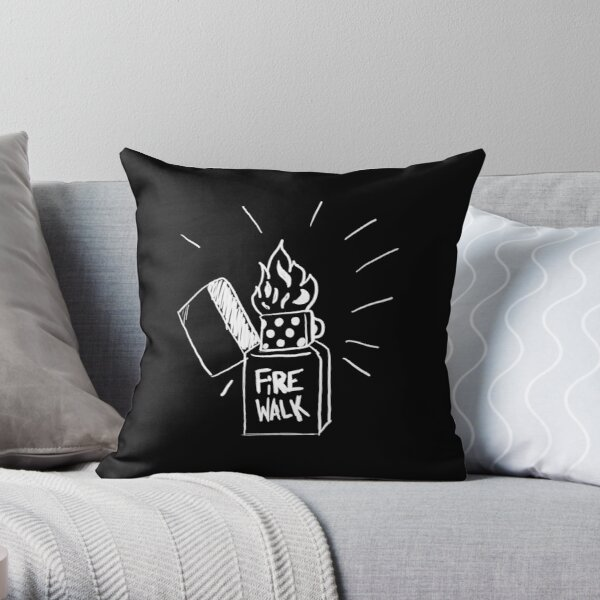Life is Strange Before the storm Fire Walk  Throw Pillow