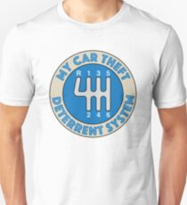 Car Theft Deterrent System Unisex T-Shirt
