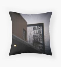 Theatre.Stage.Kulisse Throw Pillow
