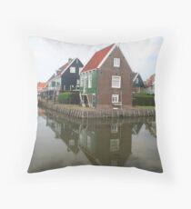 Vollendam, Holland Throw Pillow