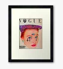 Vogue - April 1951 Framed Print