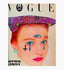 Vogue - April 1951 Photographic Print