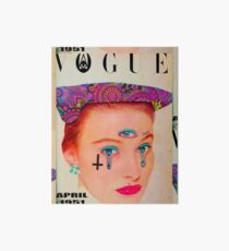 Vogue - April 1951 Art Board