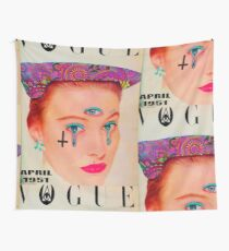 Vogue - April 1951 Wall Tapestry