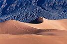Sunrise over Mesquite Flat Sand Dunes by Alex Preiss