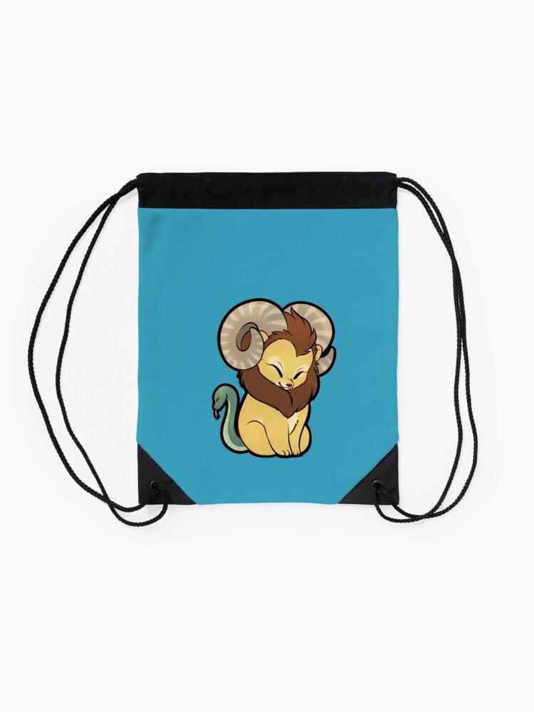 Alternate view of Lil' Chimera Drawstring Bag