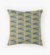 Bumphead Parrotfish Throw Pillow