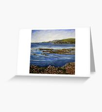 """""""Kilkee Cliffs - County Clare"""" Greeting Card"""