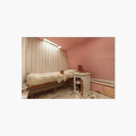 Pink room Art Board Print