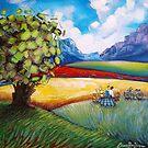 Picnic in the Winelands by Cherie Roe Dirksen