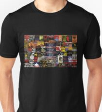 Midnight Oil - poster montage T-Shirt