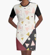 Triangles Mix #redbubble #decor #buyart Graphic T-Shirt Dress