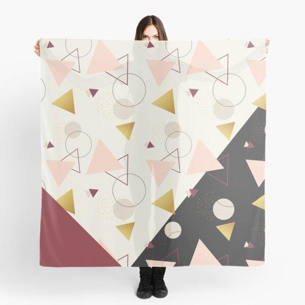 Triangles Mix #redbubble #decor #buyart Scarf