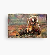 bear animal Canvas Print