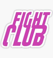 Fight Club Logo Sticker