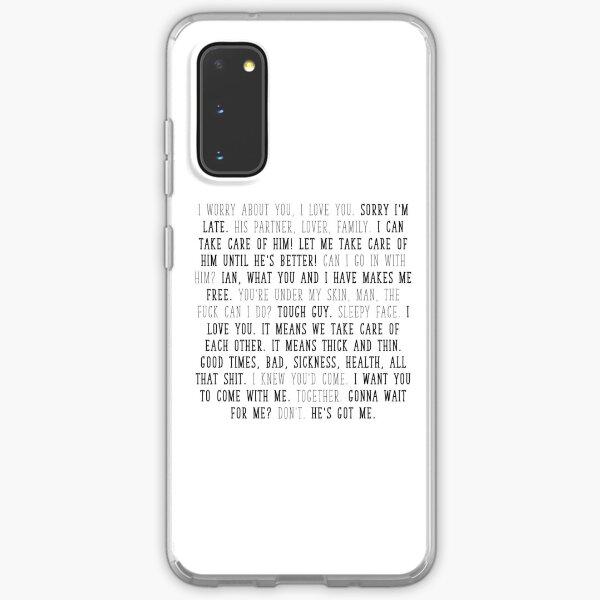 mickey milkovich quotes Samsung Galaxy Soft Case
