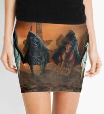 Four Horsemen Of The Apocalypse Mini Skirt