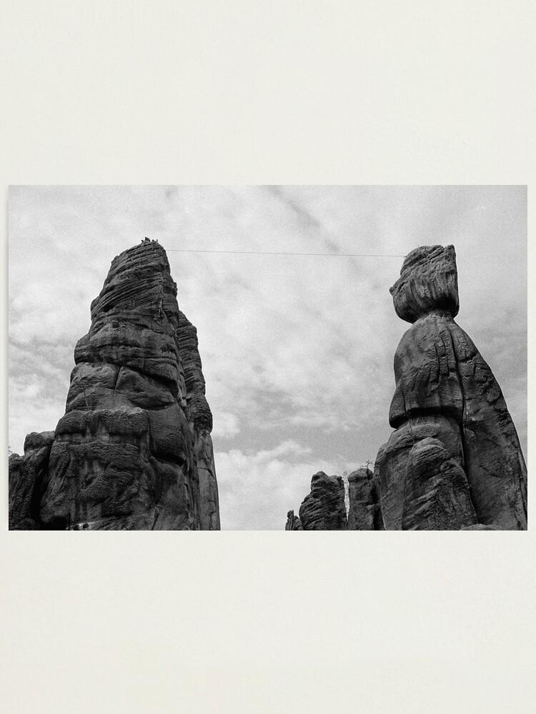 Alternate view of Climbing the rocks Photographic Print