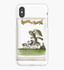 Funny Yorkshire Hostile Rodent Crisis iPhone Case/Skin