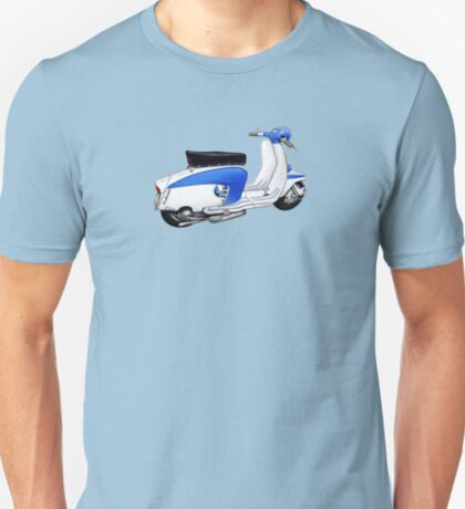 Scooter T-shirts Art: TV 175 Lambretta illustration T-Shirt