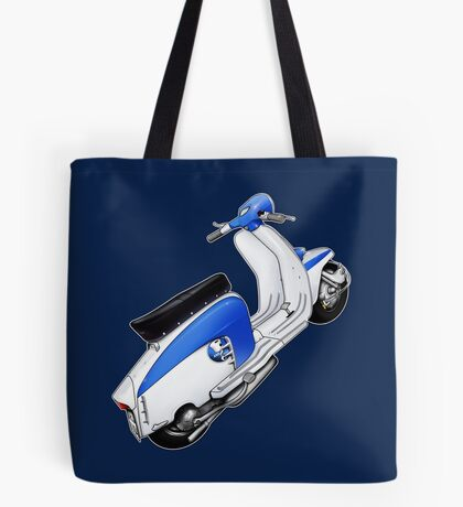 Scooter T-shirts Art: TV 175 Lambretta illustration Tote Bag