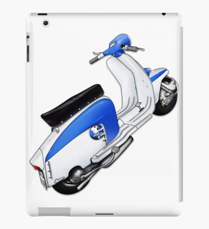 Scooter T-shirts Art: TV 175 Lambretta illustration iPad Case/Skin
