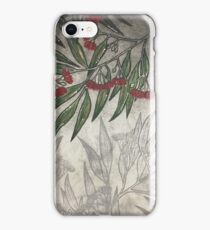 Red Gums Blossoming iPhone Case/Skin