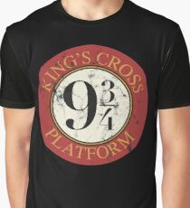 Platform 9 3/4 Distressed Graphic T-Shirt
