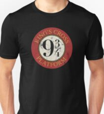Platform 9 3/4 Distressed Unisex T-Shirt
