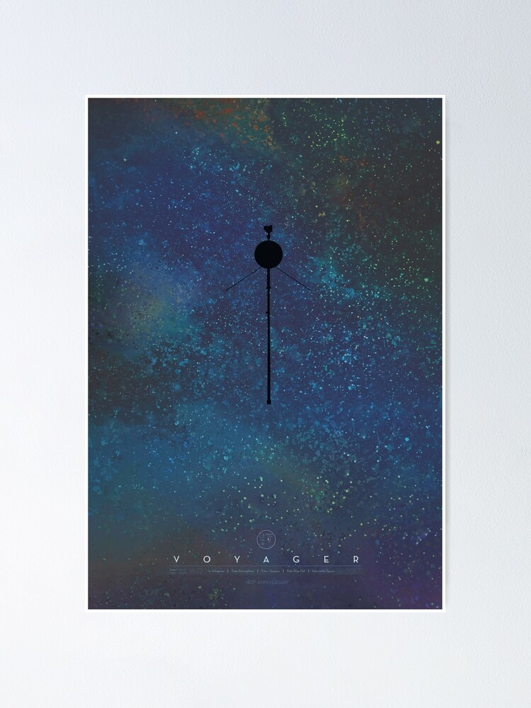 Alternate view of The Voyagers: Reaching for the Stars Poster