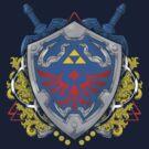 Hero's Shield by TeeKetch