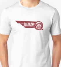 LASS UNS GEHEN! Yuri Gagarin - Light Shirt Version Slim Fit T-Shirt