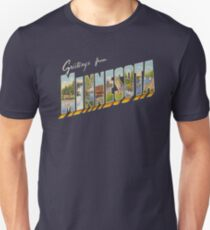 Greetings from Minnesota 1 Unisex T-Shirt