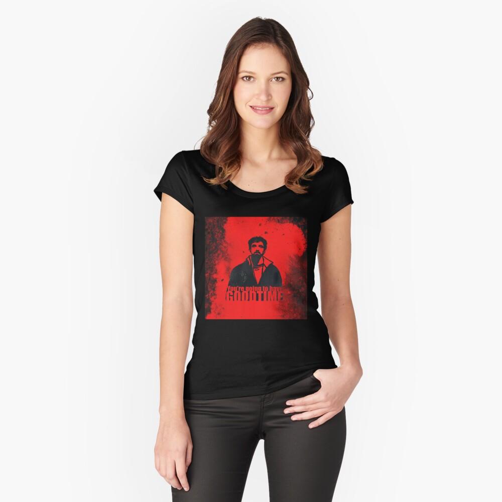 You're going to have a GOOD TIME Camiseta entallada de cuello redondo