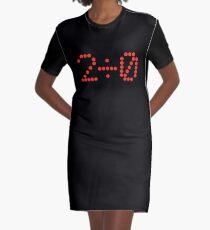 2 ÷ 0 (Zwei geteilt durch Null) T-Shirt Kleid