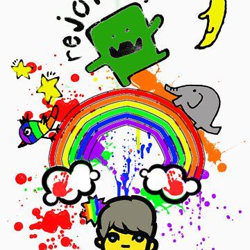 Happy Fun Time! by branmattic