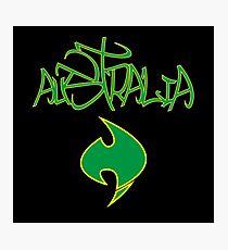 Australia Graffiti and Logo b Photographic Print