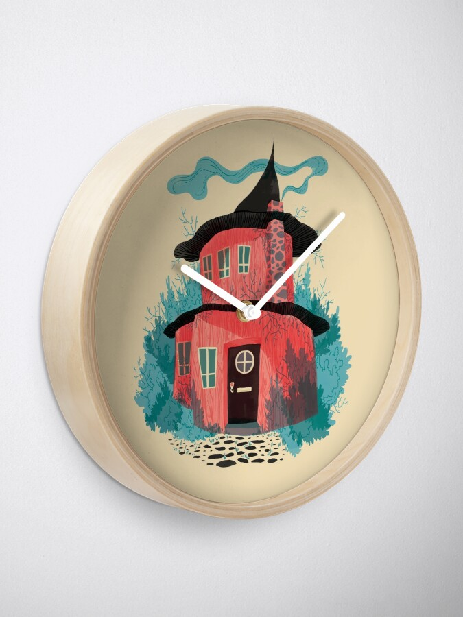 Alternate view of Woodland House Clock