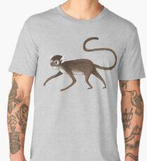 Squirrel Monkey Walking Men's Premium T-Shirt