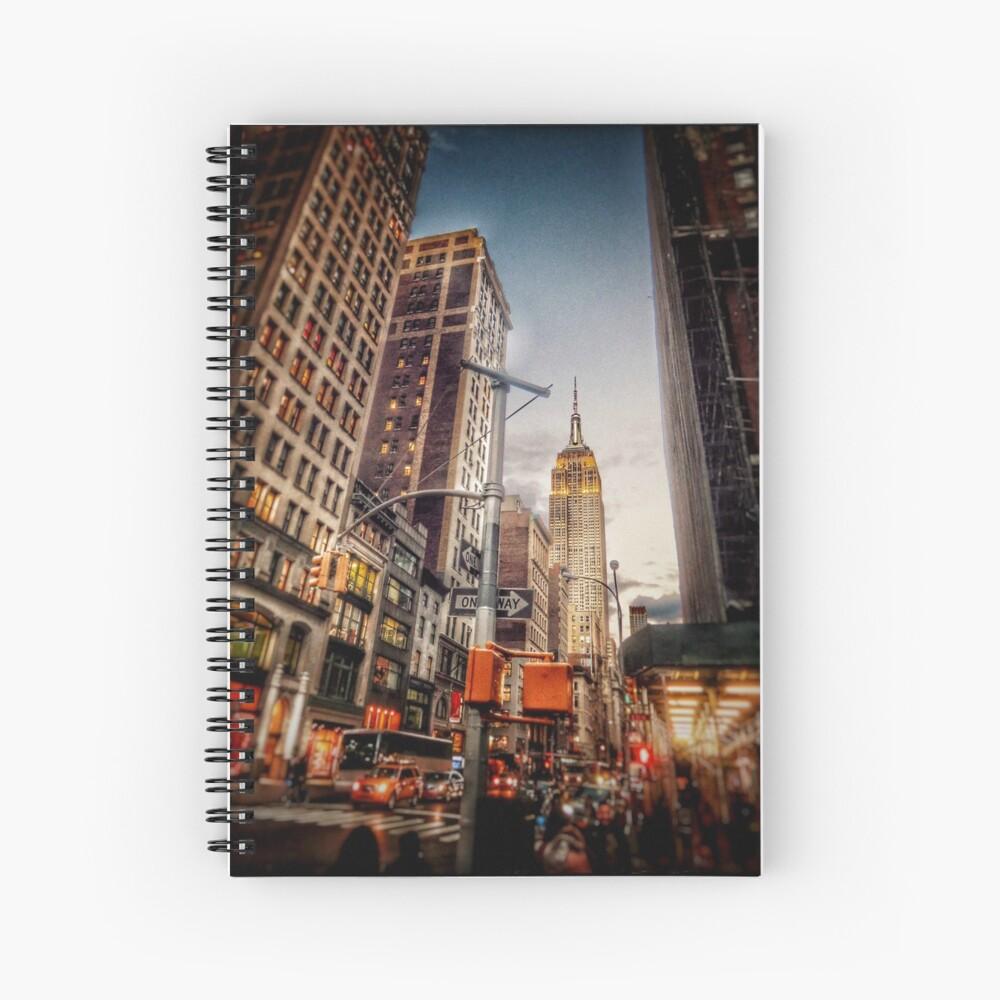 Cahier à spirale «J'ai vu New-York | 10 |»
