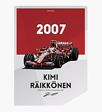 Kimi Raikkonen Photographic Print