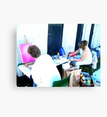 Artists At Work Canvas Print