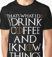 I Drink  Graphic T-Shirt