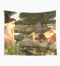 Echo and Narcissus - John William Waterhouse Wall Tapestry