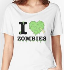 I Love Zombies Women's Relaxed Fit T-Shirt