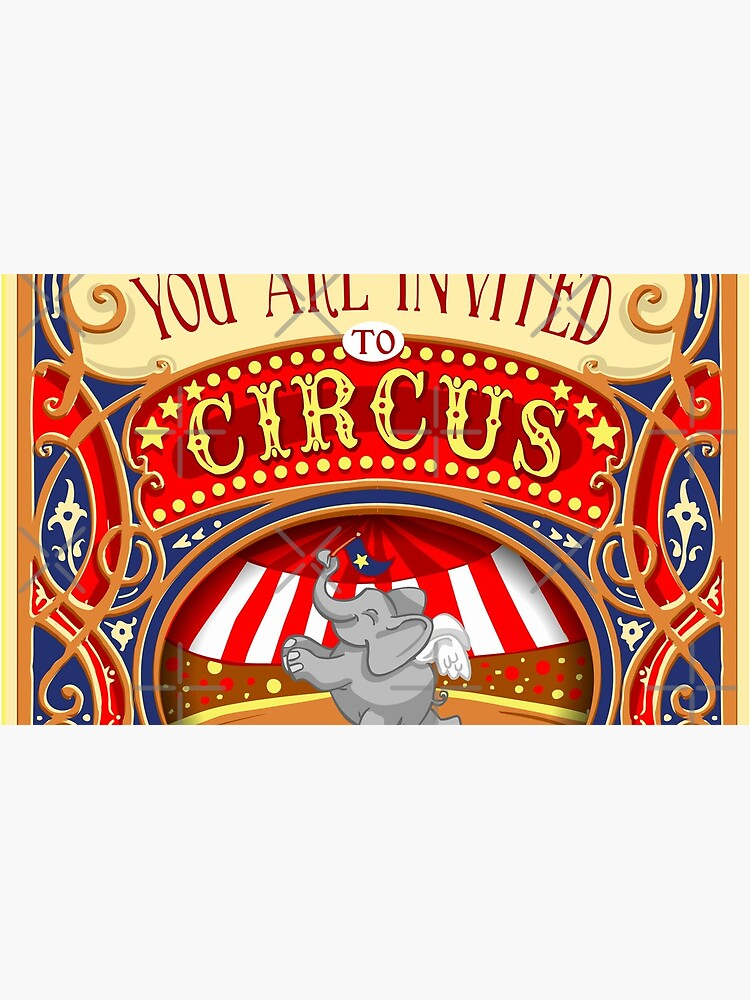 Dumbo Flying Elephant Circus Party  by aurielaki