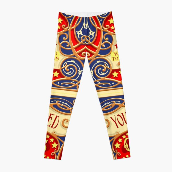 Dumbo Flying Elephant Circus Party  Leggings
